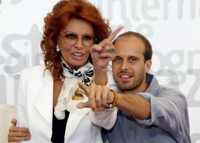 "Sophia Loren a Ostuni per le riprese de ""La vita davanti a sé"""